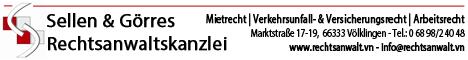 "Rechtsanwaltkanzlei Sellen V""lklingen"