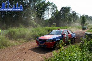 Rallye-Rennwagen bei der Rallye-Warndt (Foto: Hell)