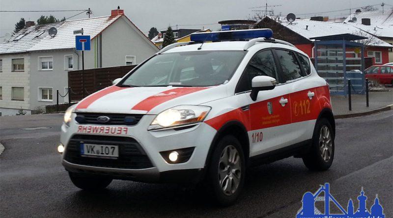Kommandowagen KdoW des Wehrführers der freiwilligen Feuerwehr Völklingen