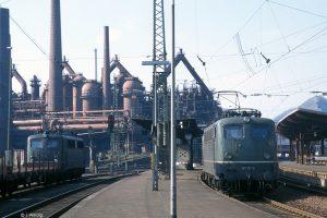 1990 ist Völklingen Endstation der Linie © I. Weidig