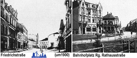 Diese Bilder entstanden um 1900