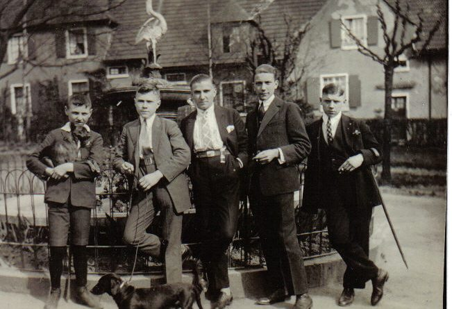 Ausflug in die Kleinschen Anlagen der Familie Strempel in den 1920ern © Strempel