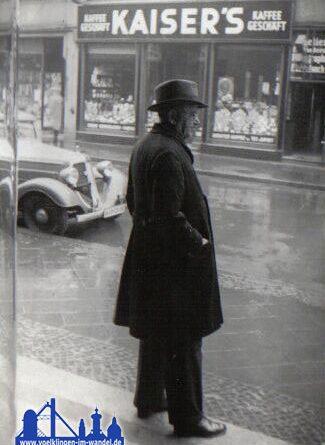 Poststraße in den 30ern © Strempel