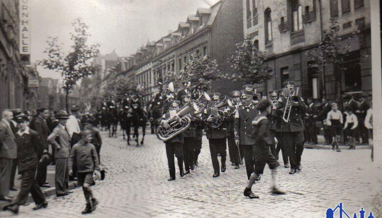 Gatterstraße in den 30ern © Strempel
