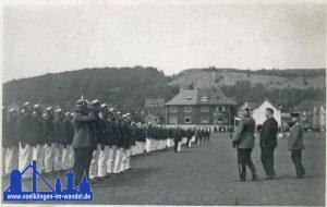 1934 - auf dem Bild: Bürgermeister Sieberin
