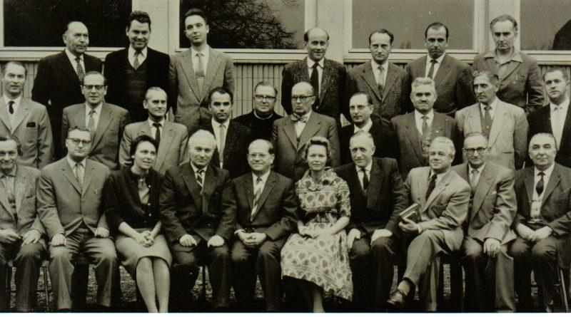 1960: Lehrerkollegium des Knaben-Gymnasiums