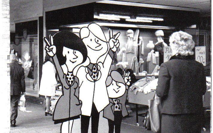 1973 Aktionsgemeinschaft des Völklinger Handels © Strempel
