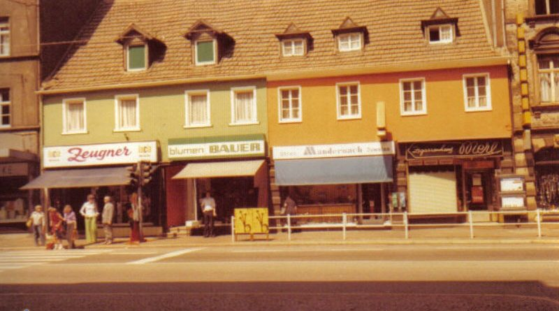 1974 Rathausstraße © Strempel
