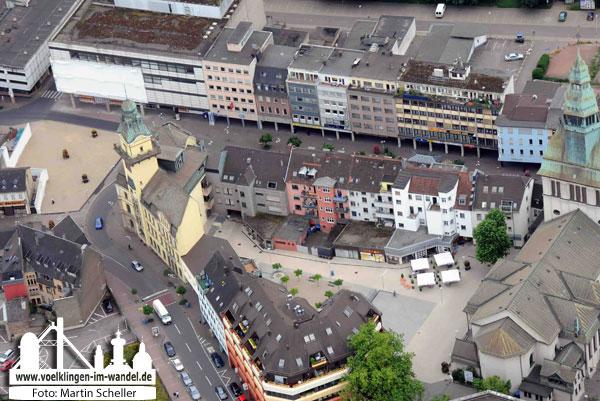 2008: Blick in das City-Dreieck (Foto: M. Scheller)