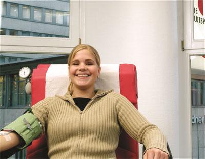 Blutspende - Foto: Deutsches Rotes Kreuz
