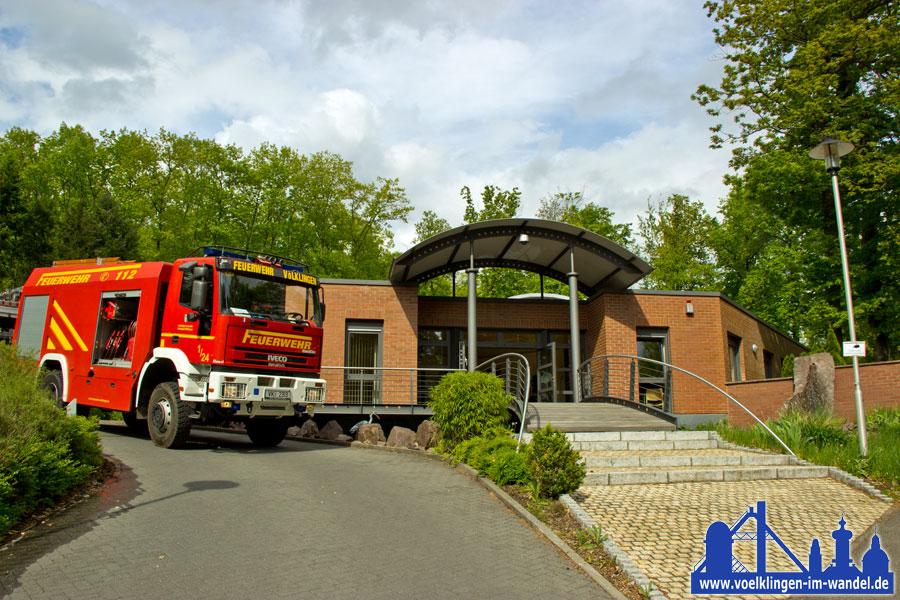Feueralarm am Krematorium