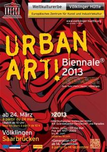 Urban Art Biennale - Plakatmotiv