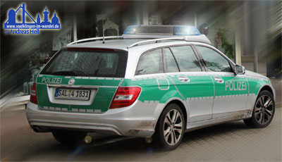 Polizei Völklingen im Einsatz