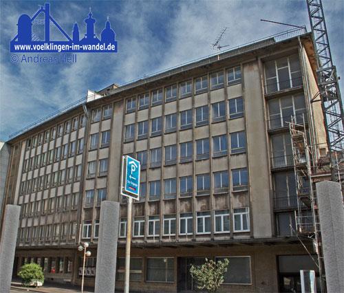 Die ehemalige Röchling-Bank und Casino