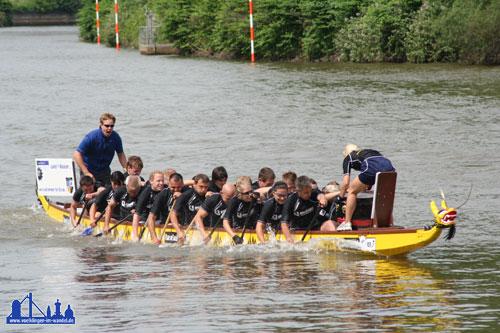 Drachenboot-Rennen