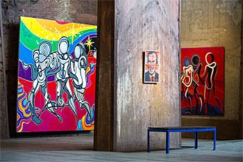 UrbanArt Biennale® 2013 im Weltkulturerbe Völklinger Hütte Copyright: Weltkulturerbe Völklinger Hütte/Oliver Dietze
