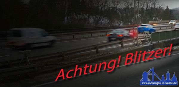Blitzer auf der A620