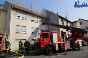 Wohnhausbrand in Ludweiler