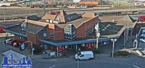Der neue Bahnhof in Völklingen