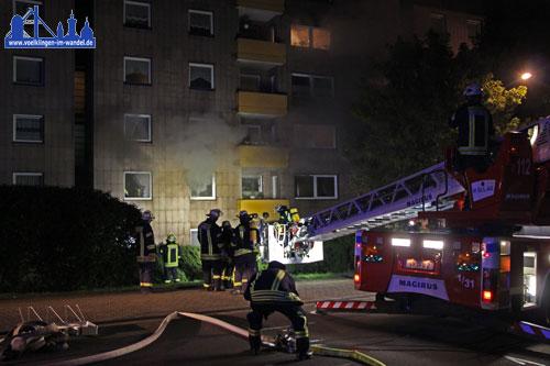 20 Bewohner konnten sich selbst in Sicherheit bringen