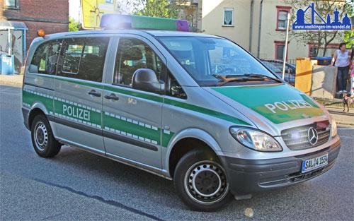 Die Völklinger Polizei im Einsatz