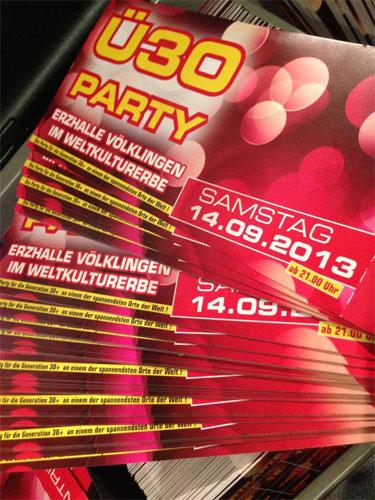 Ü30 Party - Foto: Veranstalter