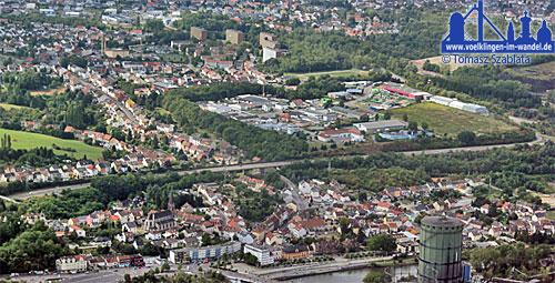 Wehrden aus der Luft - Foto: T. Szablata