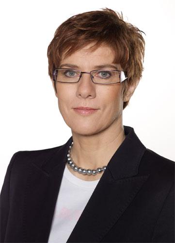 Ministerpräsidentin Annegret Kramp-Karrenbauer - Foto: saarland.de