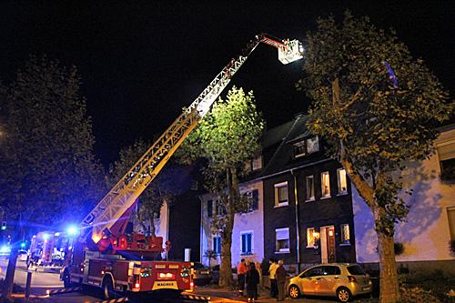 Unbegründeter Brandverdacht in der Kühlweinstraße