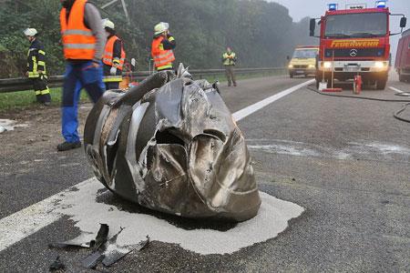 Schwere Unfälle auf der A620 - Foto: Privat