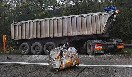 Unfall auf der A620