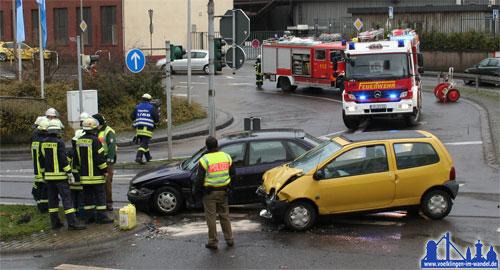 Verkehrsunfall - Symbolfoto von A. Hell