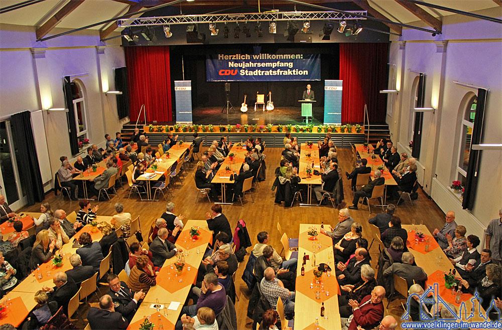 Neujahresempfang der CDU-Stadtratsfraktion 2014