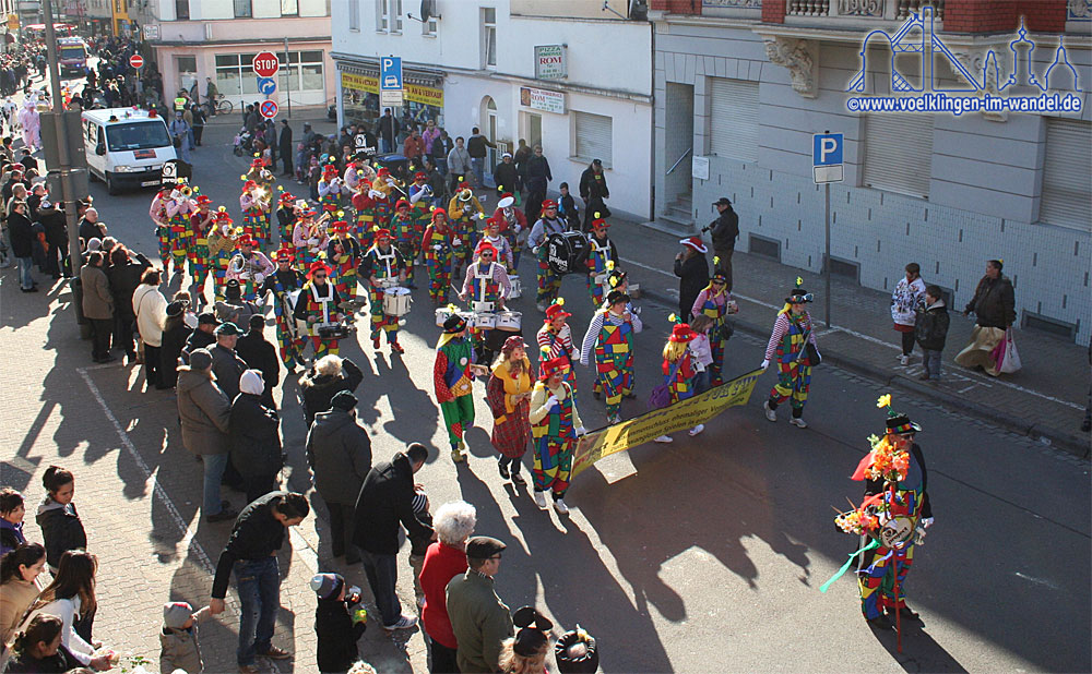 Auch 2014 findet der Rosenmontagsumzug in Völklingen statt