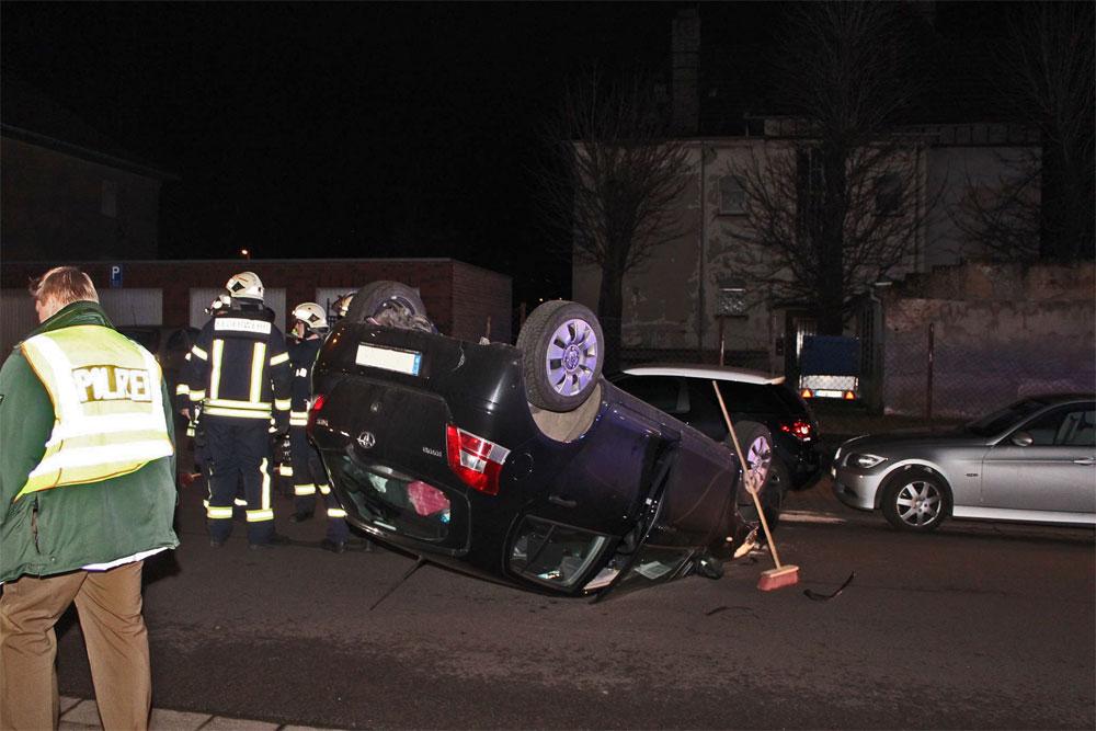 Unfall in der Völklinger Innenstadt - Foto:Privat