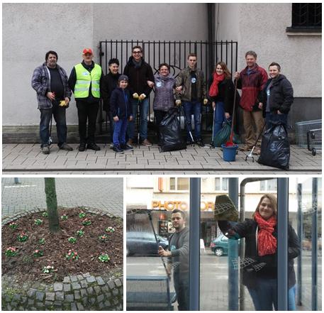 Picobello-Aktion 2014 (Kollage/Fotos: Geisinger)