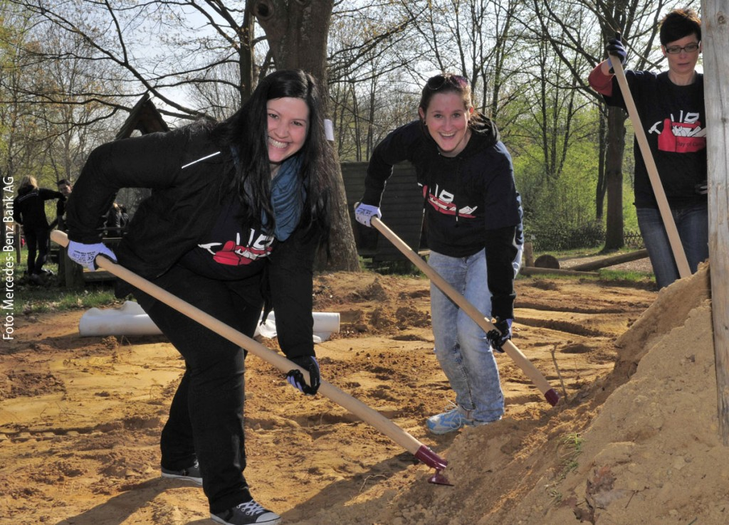 Day of Caring - Foto: Mercedes-Benz Bank AG