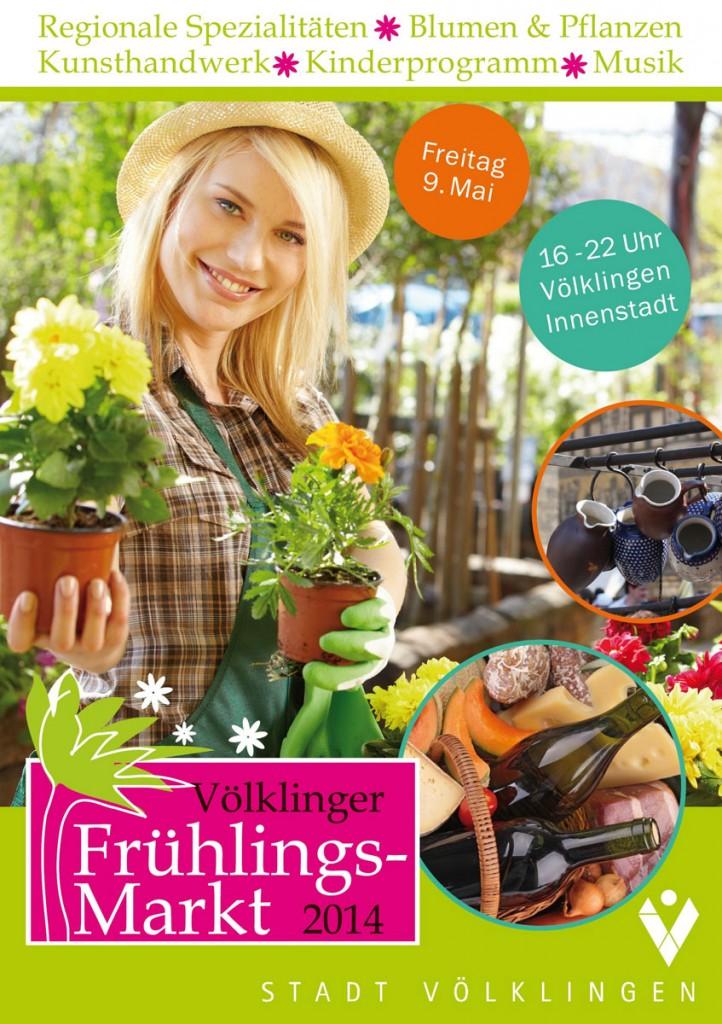 Frühlingsmarkt Veranstaltungswerbung
