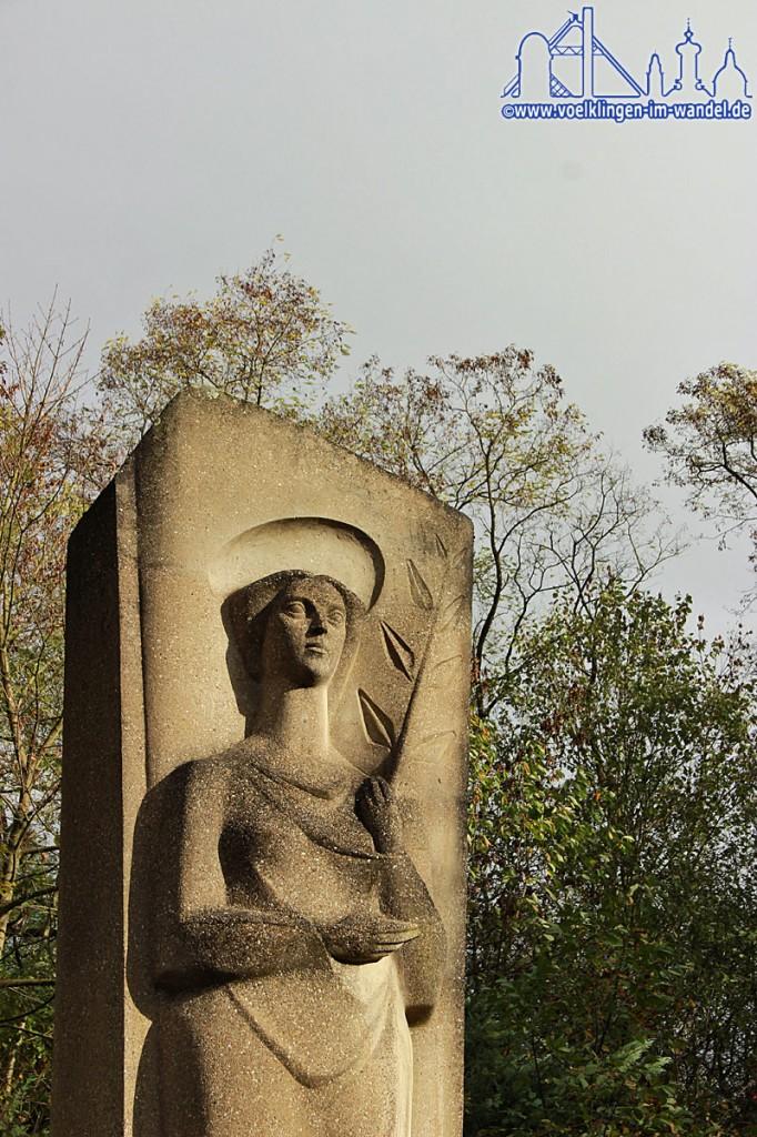 Diese Gedenkstätte erinnert an die 299 Opfer der Schlagwetterexplosion vom 7. Februar 1962