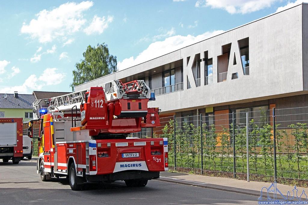 Die BMA der KiTa Röntgenstraße schlug Alarm - Foto: A.Hell