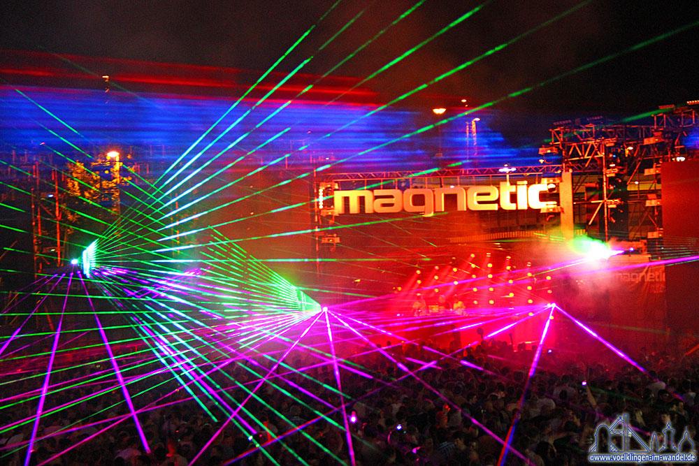 "Das Festival ""Electro-Magnetic"" 2014 im Weltkulturerbe Völklinger Hütte"