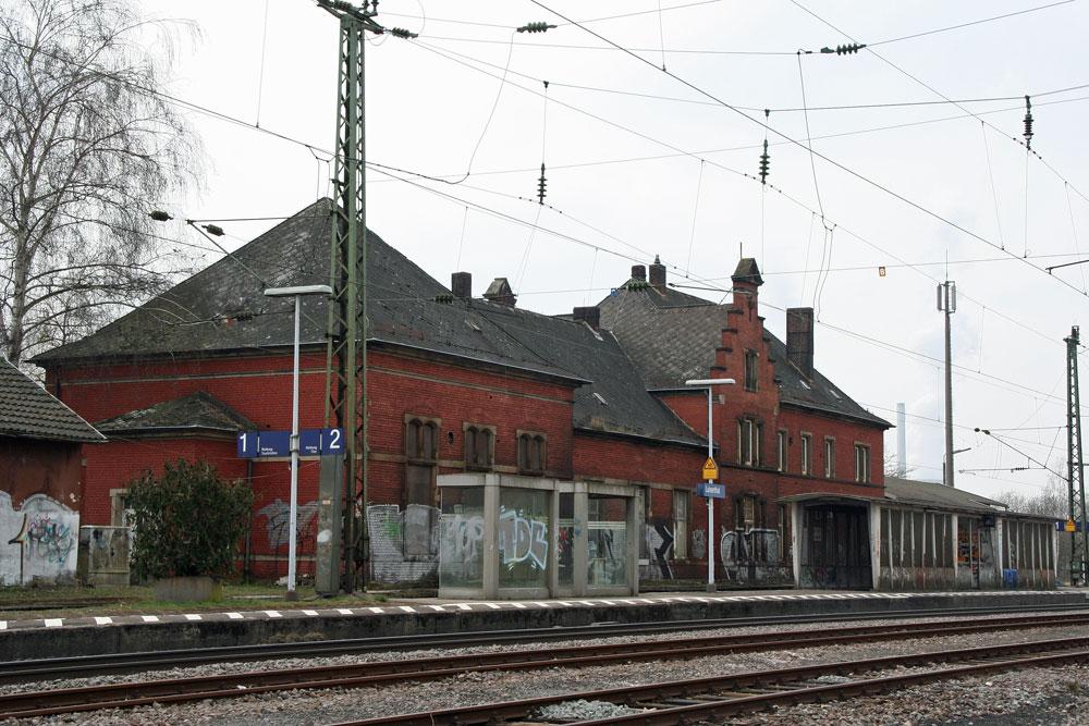Bahnhof Luisenthal - Foto: Hell