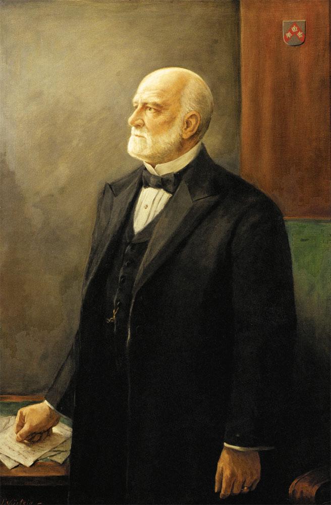Porträt Carl Röchling (1827 - 1910), Gemälde Copyright: Familie Röchling