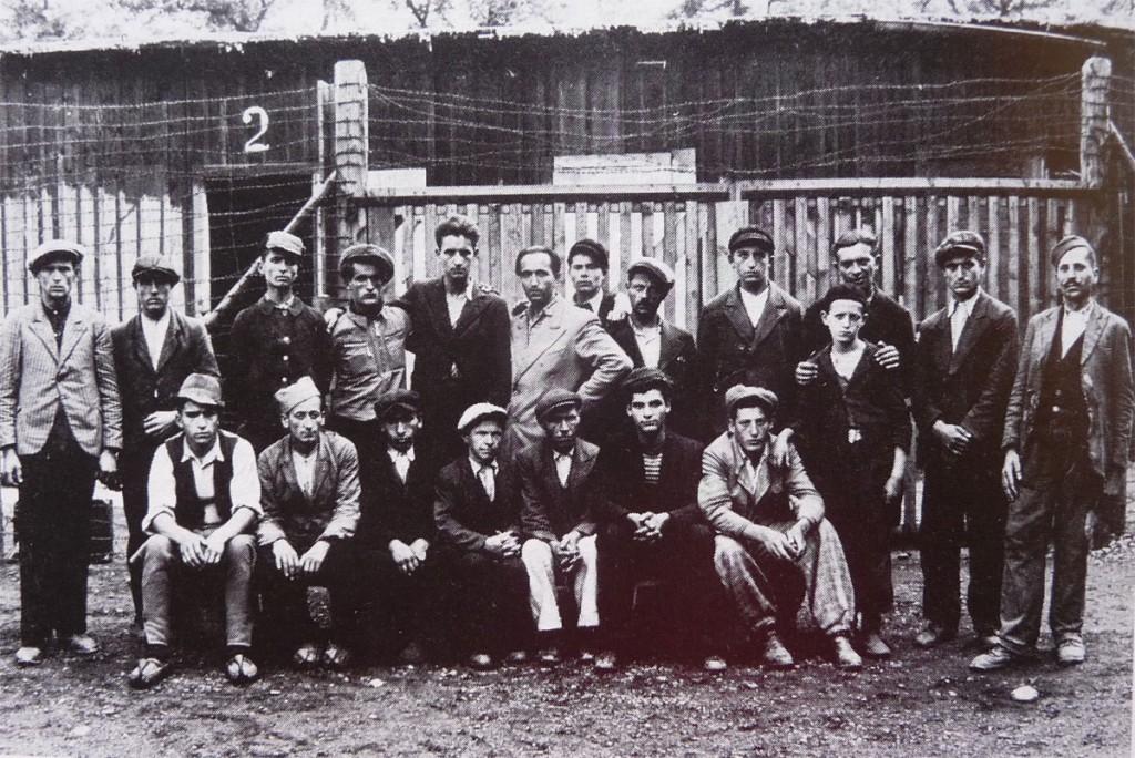 Serbische und sowjetische Zwangsarbeiter der Röchling-Werke in Völklingen, 1941/42 Copyright: Saarstahl AG