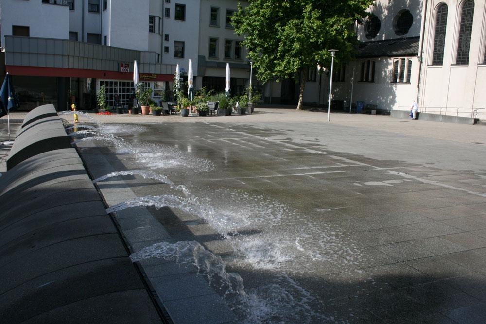 Der Brunnen am Adolph-Kolping-Platz  (Foto: Stadt)
