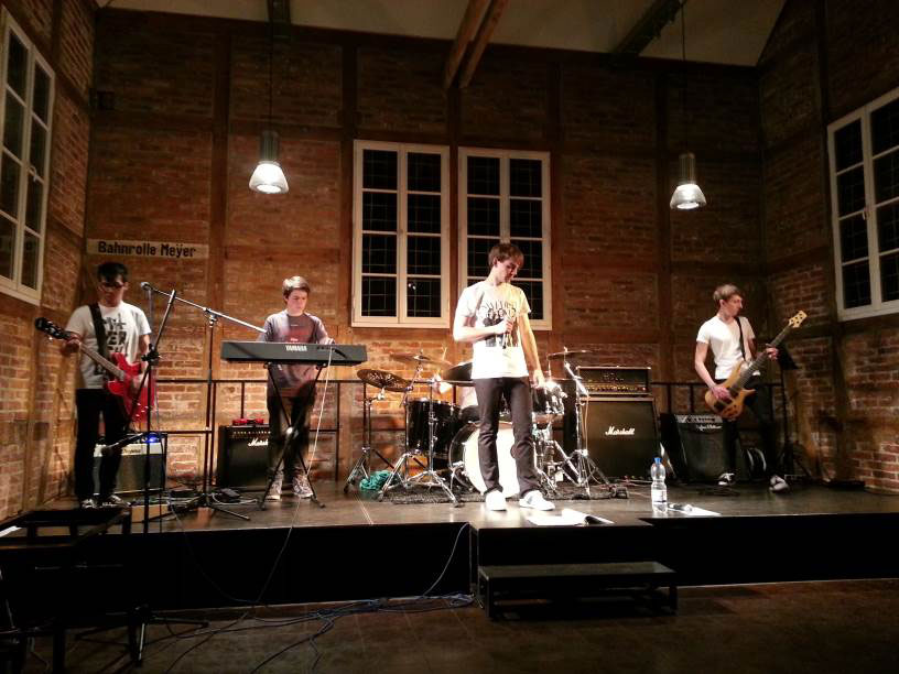 Letter Experiment bei einem Auftritt im Kulturbahnhof Püttlingen (Foto: Band/PM-Verein)