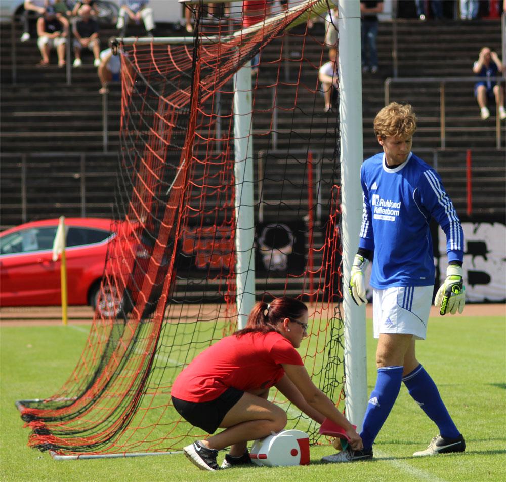Sebastian Buhl während des Heimspiels gegen Neunkirchen in der vergangenen Saison (Foto: Hell)