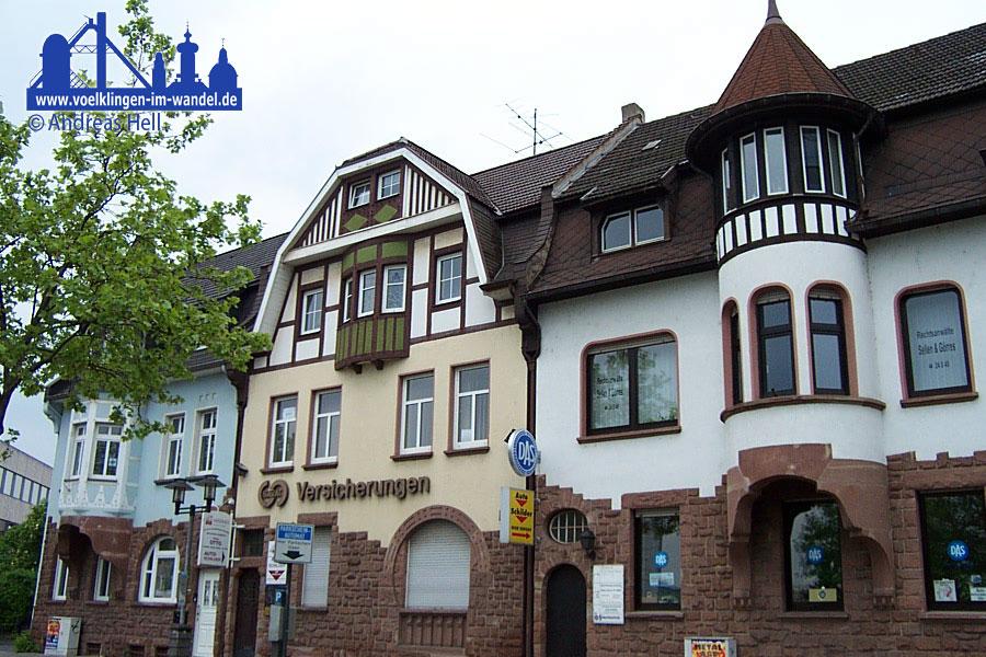 Die Völklinger Markthäuser, im linken ist das Kinderhaus untergebracht (Archivfoto: Hell)
