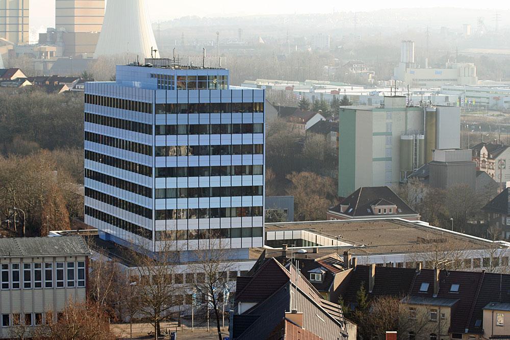 Das neue Rathaus in Völklingen. (Foto: Hell)