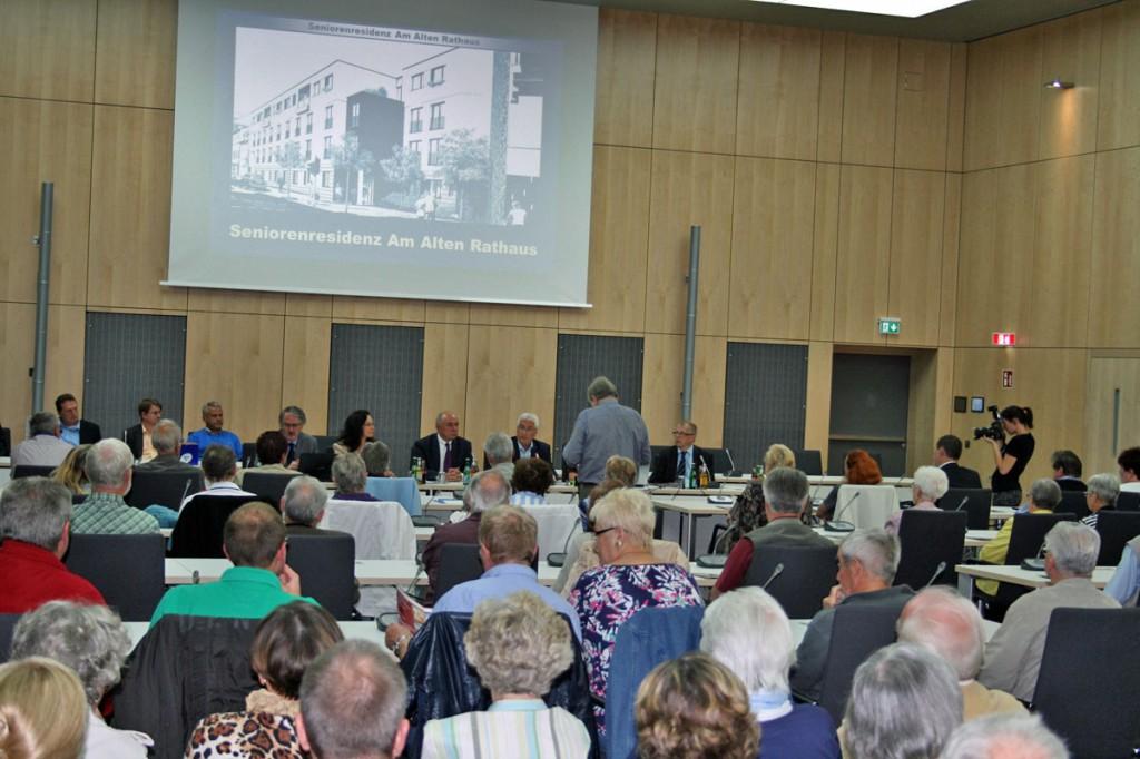 Die Präsentation staß auf großes Interesse (Foto: Stadt VKL)